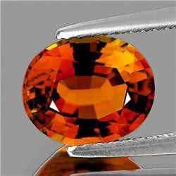 Natural Vivid Orange Tourmaline 1.02 Ct