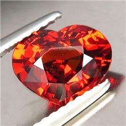 Natural Orange Heart Spessartite 2.145 ct - VVS