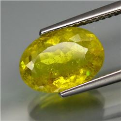 Natural rare Natural Top Yellow Tourmaline 2.445 Carats