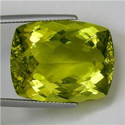 Natural Cushion Prasiolite Gemstone 36.52 - IF