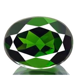 Natural Green Chrome Diopside 2.15 Carats - VVS
