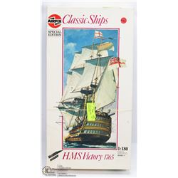 81) AIRFIX CLASSIC SHIPS MODEL 1:180 HMS VICTORY