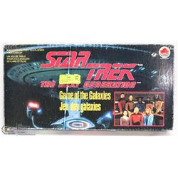 37) BOXED STAR TREK GAME OF THE GALAXIES GAME