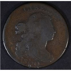 1800 DRAPED BUST LARGE CENT, GOOD+
