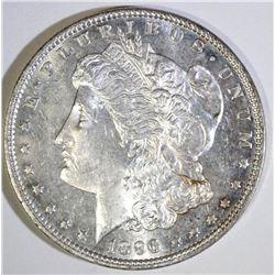 1896 MORGAN DOLLAR, CH BU