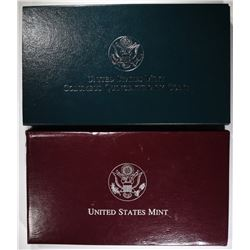 1998 KENNEDY & 1992 COLUMBUS PROOF SETS