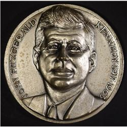 HIGH RELEIF JFK MEDAL 68 GRAMS