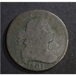 1801 3 ERRORS DRAPED BUST LARGE CENT  GOOD