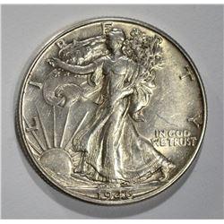 1946 DDR WALKING LIBERTY HALF DOLLAR  CH AU
