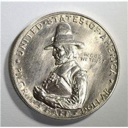 1920 PILGRIM COMMEMORATIVE HALF DOLLAR  GEM BU