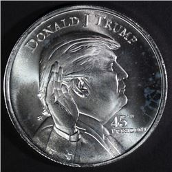 DONALD TRUMP/WHITEHOUSE 1oz SILVER ROUND
