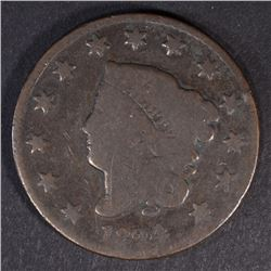 1824/2 LARGE CENT G/VG KEY DATE