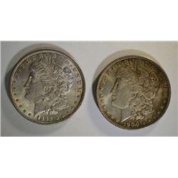 1900 & 1888 MORGAN DOLLARS CHBU