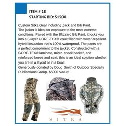 Custom Sitka Gear Jack and Pants