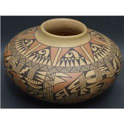 HOPI POTTERY JAR (DEWAKUKU)