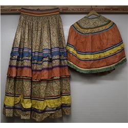 SEMINOLE SKIRT AND BLOUSE
