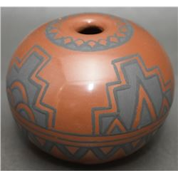 SANTA CLARA POTTERY SEED JAR (VIGIL)