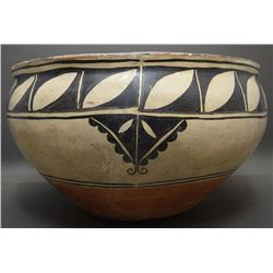 COCHITI POTTERY DOUGH BOWL