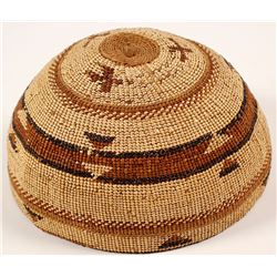 Vintage Hupa Hat Basket