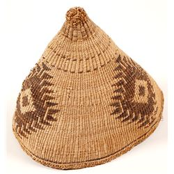 Rare Vintage Klamath Hat Basket