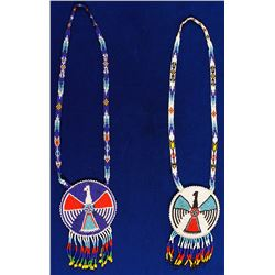 Beaded Medallions (1 Pair)