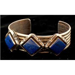 Silver & Lapis Bracelet