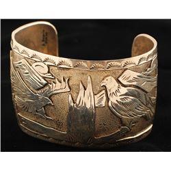 Silver Navajo Cuff