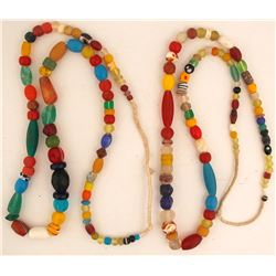 Two Vintage Bead Necklaces