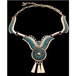 Zuni Turquoise Necklace