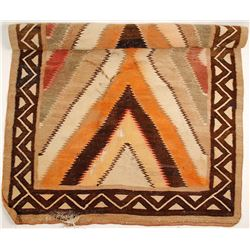 Antique Burntwater Navajo Rug