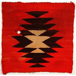 Vintage Navajo Saddle Blanket