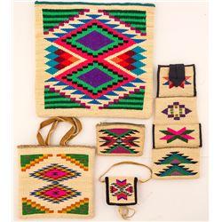 Five Viola Morris Corn Husk Bags