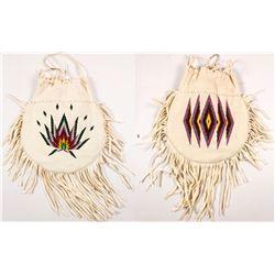Beaded Handbag by Agnes Kenmille