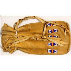 Northwest Coast Leather Bag