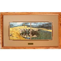 Calling the Buffalo Framed Prints by Bev Doolittle