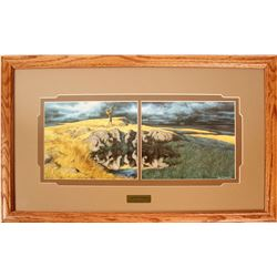 Calling the Buffalo Framed Prints by Bev Doolittle