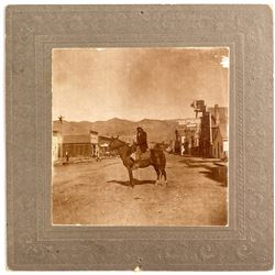 Photograph of Indian at Salmon City