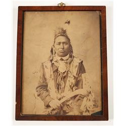 Vintage Photo of Native American