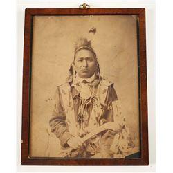 Vintage Photo of Native American