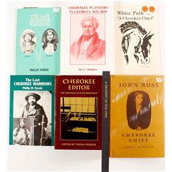 Cherokee Biographies Books (7)