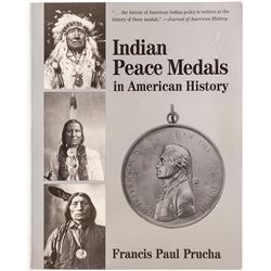 Indian Peace Medals in American History, Book