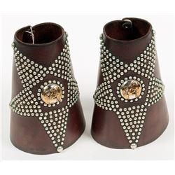 Western Leather Cuffs