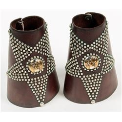 Western Leather Cuffs