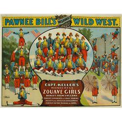 Pawnee Bill's Historic Wild West Poster