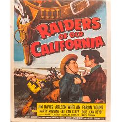Raiders of Old California Movie Poster