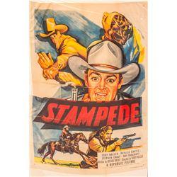Stampede Movie Poster