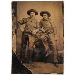 Cowboy Daguerreotype