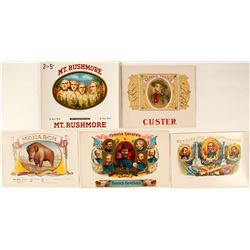 Choice Wild West Related Cigar Labels