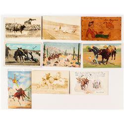 """Cowboy """"OOPS"""" Postcards"""
