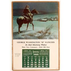 Cowboy Salesman's Sample Calendar